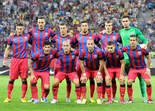 CHAMPIONS LEAGUE: STEAUA BUCHAREST-DINAMO TBILISI Stock Photography
