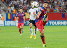 CHAMPIONS LEAGUE: STEAUA BUCHAREST-LEGIA WARSAW Royalty Free Stock Photo