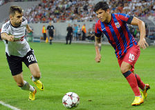 CHAMPIONS LEAGUE: STEAUA BUCHAREST-LEGIA WARSAW Stock Photo