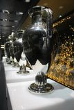 Champions League trofea Fotografia Stock