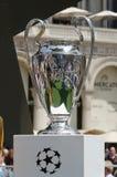 Champions League trofeum filiżanka 2016 Fotografia Royalty Free