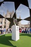 Champions League trofeum filiżanka 2016 Obraz Royalty Free