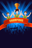 Champions poster Stock Photography