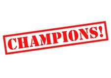 CHAMPIONS! Royalty Free Stock Image