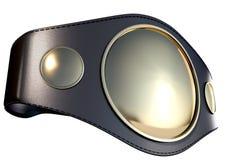 3D championship belt Stock Photography