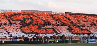 Championship celebrations of APOEL club, CYPRUS Royalty Free Stock Photography