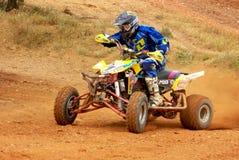 Championship of cross quad Stock Images