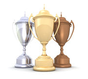 Championship Cups Royalty Free Stock Photography