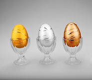 Championship Eggs Royalty Free Stock Photo