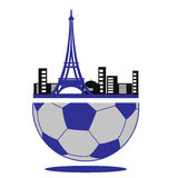 Championship. European championship 2016. France football. Soccer Stock Image
