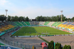 Championship for football of Ukraine Stock Image