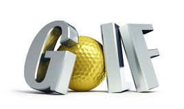 Championship Golf Royalty Free Stock Image