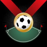 Championship medal Stock Image