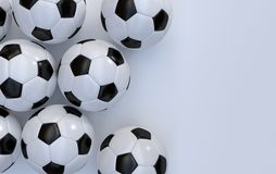 Championship soccer balls Stock Photography