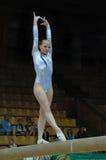 Championship on sporting gymnastics Stock Photo
