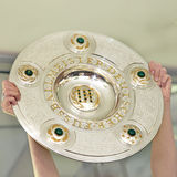Championship trophy - the German soccer cup Royalty Free Stock Photo