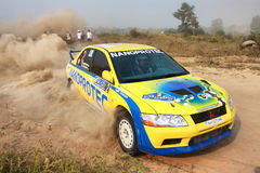 Championship of Ukraine Alexandrov rally Royalty Free Stock Images