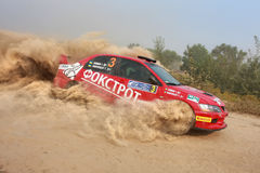 Championship of Ukraine Alexandrov rally Royalty Free Stock Photography