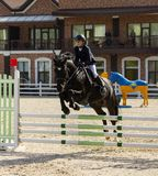 Championship of Ukraine on equestri stock photo