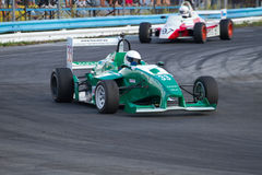 Championship of Ukraine on races car on Formula One . Stock Photography