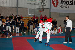 Championships Taekwon-do Royalty Free Stock Photos