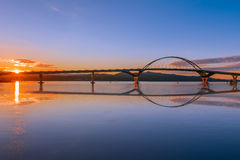 Champlain Bridge Royalty Free Stock Photography