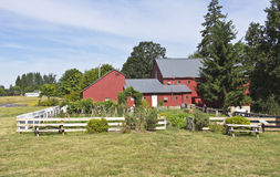 Champoeg state park Oregon. Stock Image
