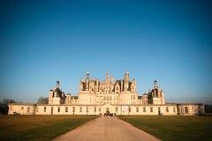champord城堡 免版税图库摄影