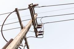 Champs électriques de samedi Photos stock
