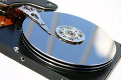 Champs de cablage à couches multiples d'unité de disque dur Photo libre de droits