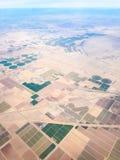 Champs de l'Arizona, Etats-Unis Photographie stock libre de droits