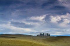 Champs de la Toscane en automne Photo libre de droits