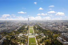 CHAMPS DE MARS, PARIS Stock Photo