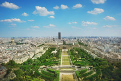 Champs de Mars Royalty Free Stock Photos