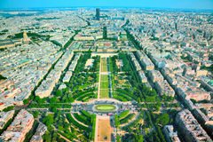Champs de Mars Royalty Free Stock Image