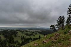 Champs de roulement dans la r?gion sauvage de Black Hills photographie stock libre de droits
