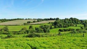 Champs de terres cultivables Photo libre de droits