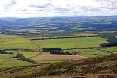 Plaines écossaises photo stock