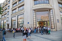 Champs Elisees Stock Photos