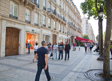 Champs Elisees Stock Images