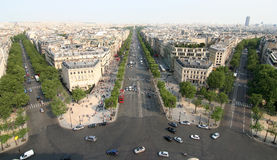 Champs Elysee Royalty Free Stock Image