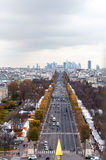 Champs Elysee avenue Royalty Free Stock Image