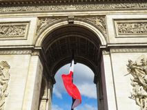 Champs Elysee Royalty Free Stock Photography
