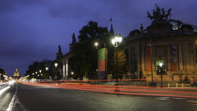 champs elysees Παρίσι Στοκ εικόνα με δικαίωμα ελεύθερης χρήσης