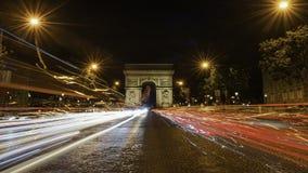 champs elysees Παρίσι Στοκ φωτογραφίες με δικαίωμα ελεύθερης χρήσης