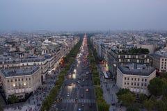 Champs-Elysees Στοκ Φωτογραφίες