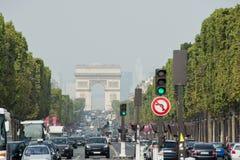 Champs-Elysees Στοκ Εικόνες