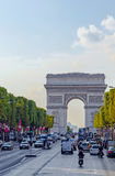 Champs Elysees Avenue Stock Photography