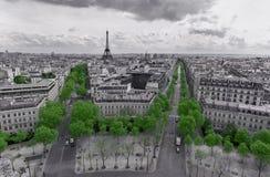 Champs Élysées Royalty Free Stock Photos