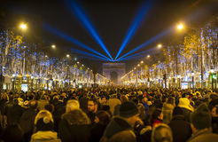 Champs Elysees Royalty Free Stock Images
